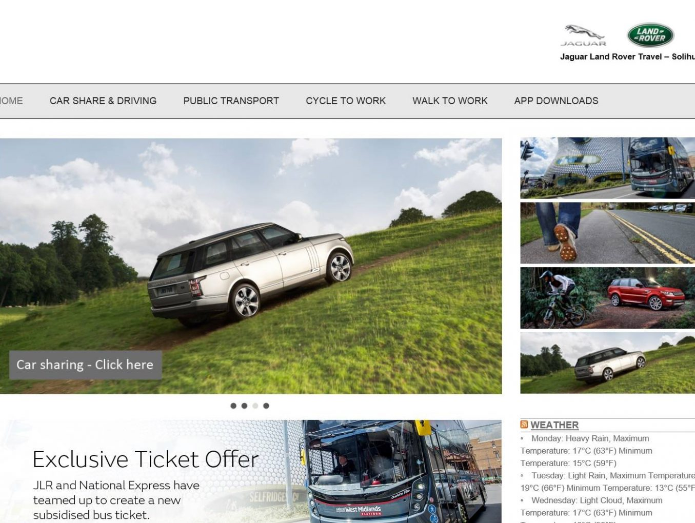 Jaguar Land Rover Travel